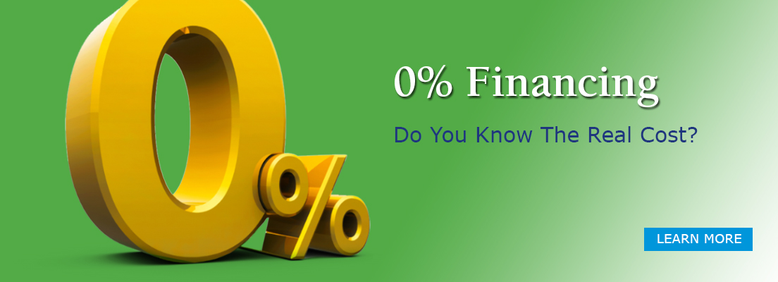 Do You Know The Real Cost Of 0% Financing?