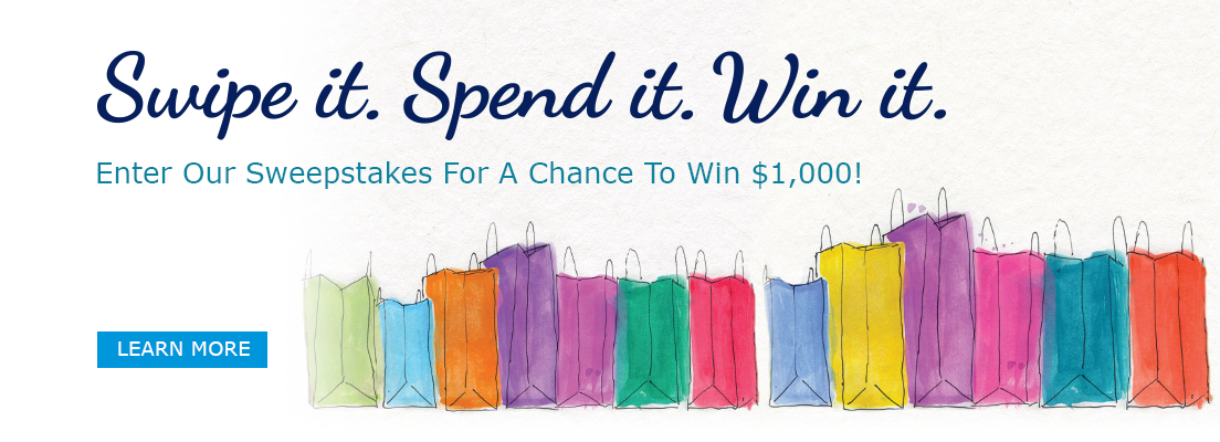 Swipe, Spend, Win! Enter Our Sweepstakes For A Chance To Win $1,000!